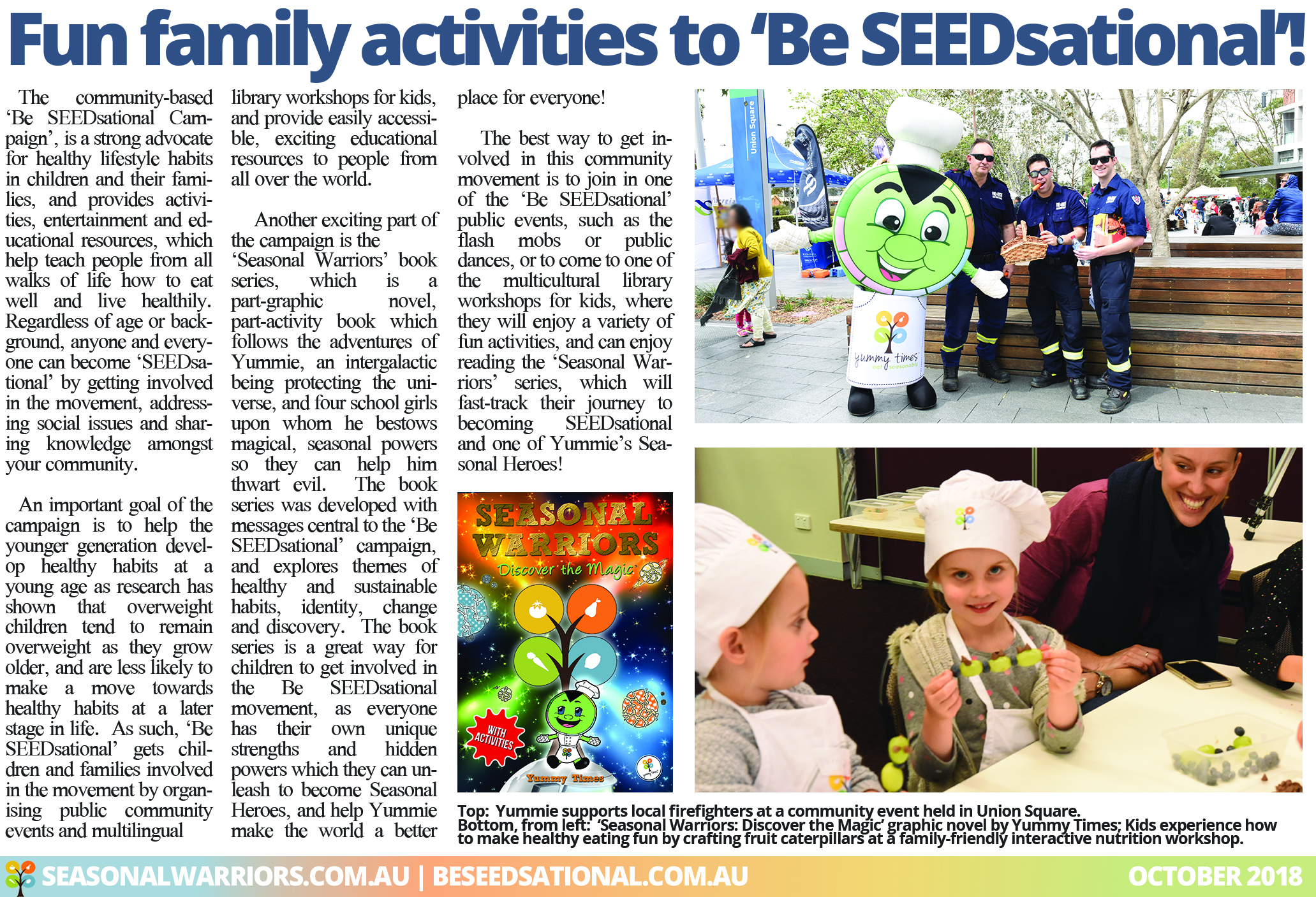 Family Activities by Be SEEDsational article