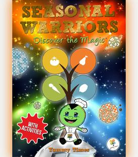 Seasonal Warriors: Discover the Magic book series cover
