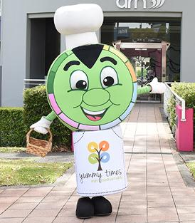 Yummie the mascot of SEEDsational
